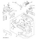 Diagram for 6 - Ice Maker & Dispenser