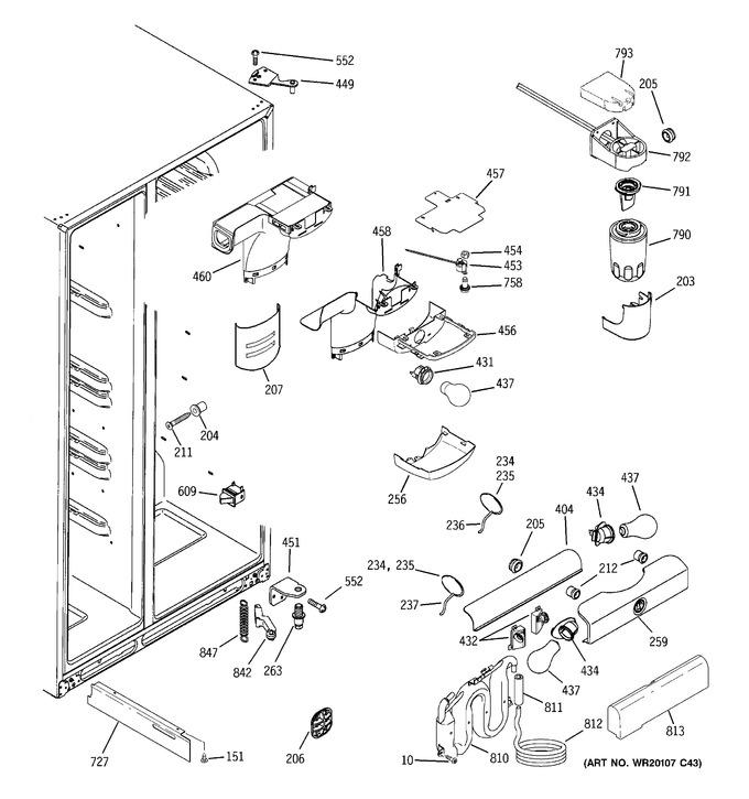 Diagram for GSHF6PHXCEBB