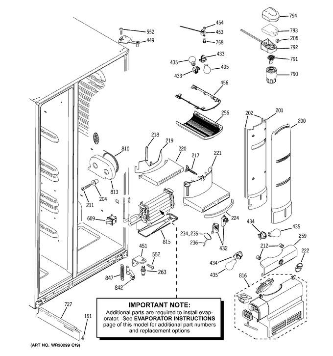 Diagram for PSDF5RGXCFWW