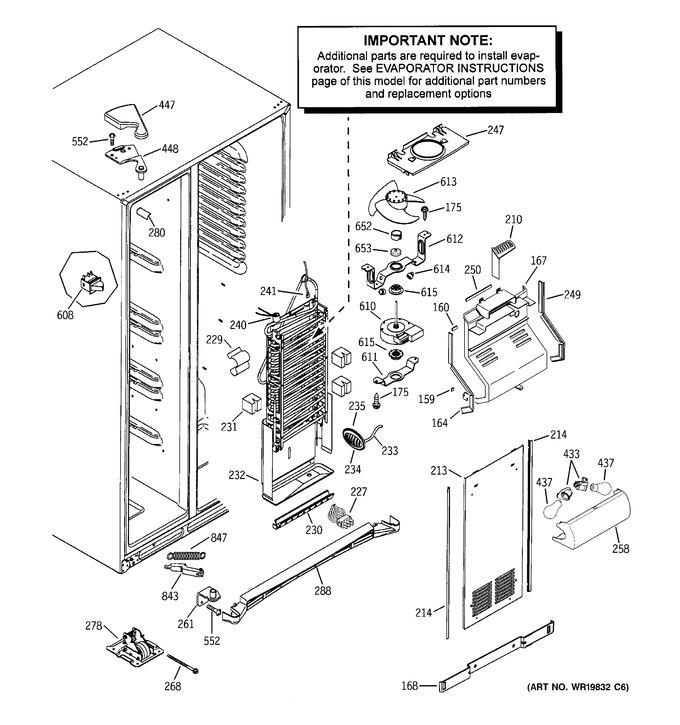 Diagram for GSF25LGWAWW