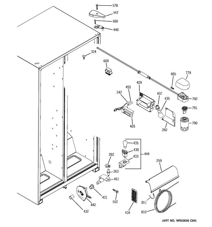 Diagram for BSS25JFTHWW