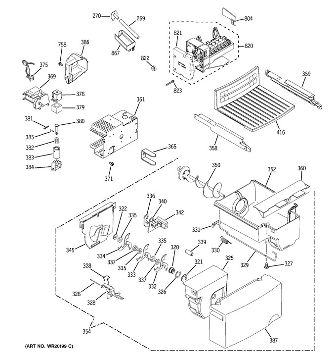 Diagram for ESL22JFXALB