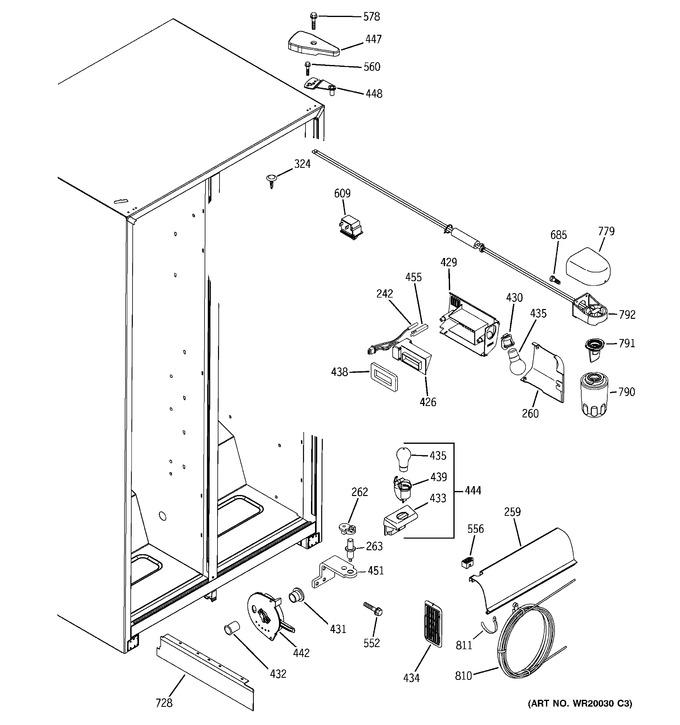 Diagram for GSH25JFTABB