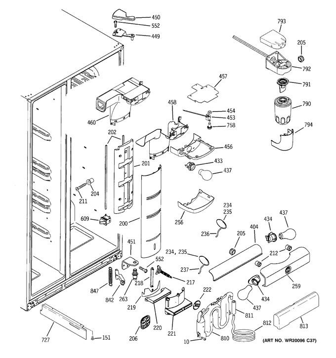 Diagram for GSL25LGWABS