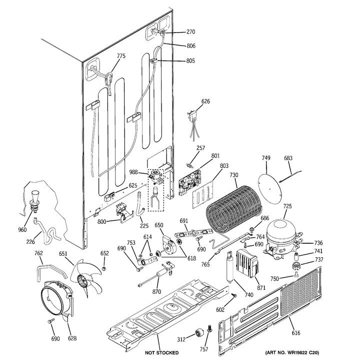 Diagram for PCF25MGWCBB