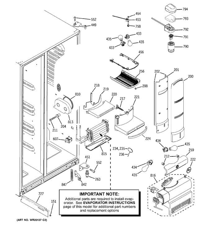 Diagram for PCF25PGWABB