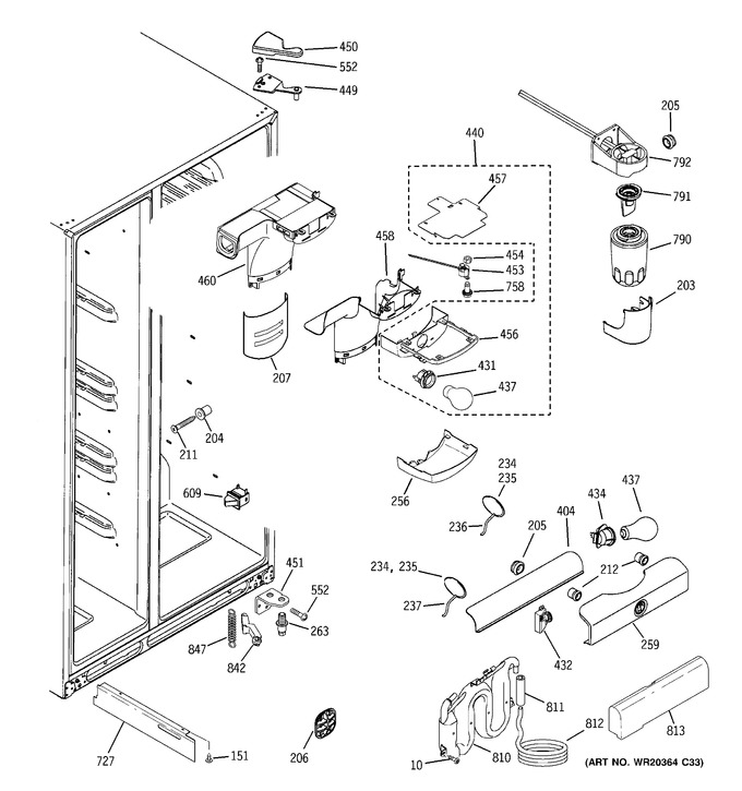 Diagram for GSS25QSWJSS