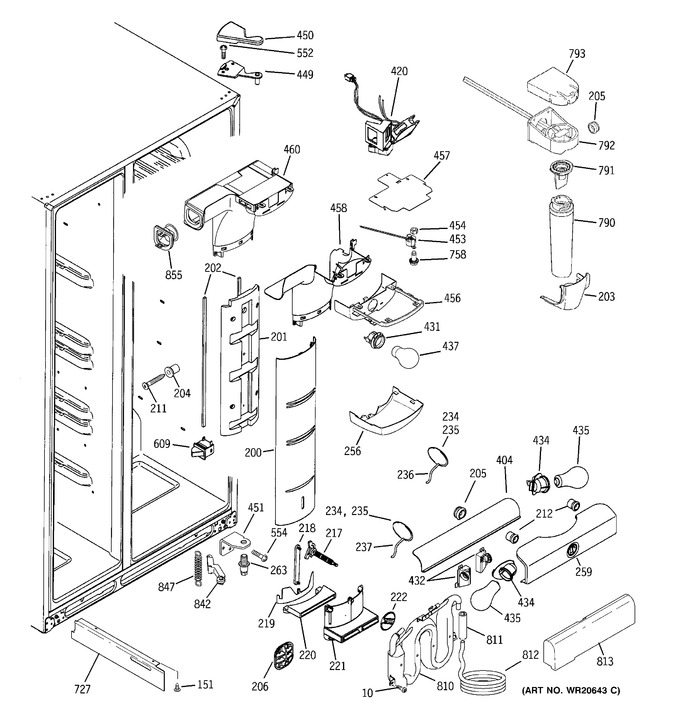 Diagram for PSK27VHXACCC