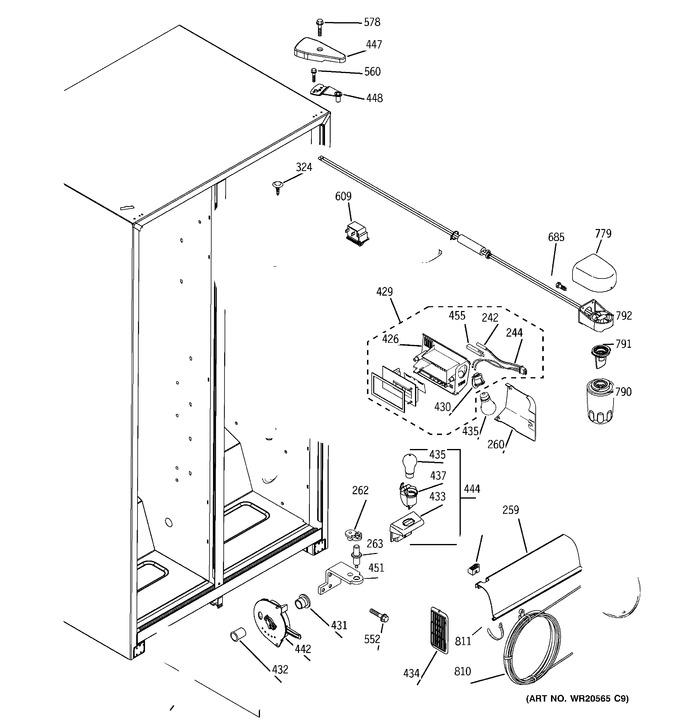 Diagram for BSS25JFTIWW