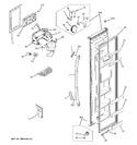 Diagram for 1 - Freezer Door