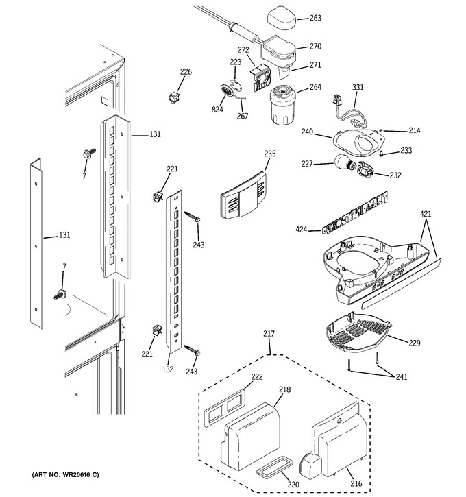 Diagram for GFSF2KEYCBB