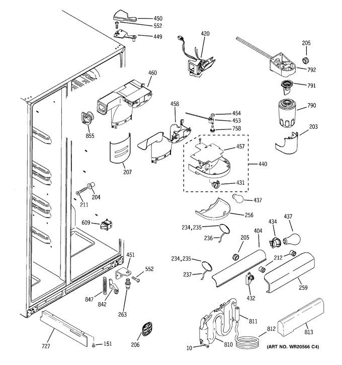Diagram for GSHF3KGXHCWW