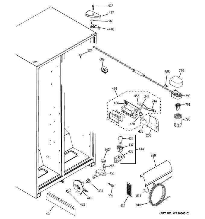 Diagram for GSL25JFXNLB