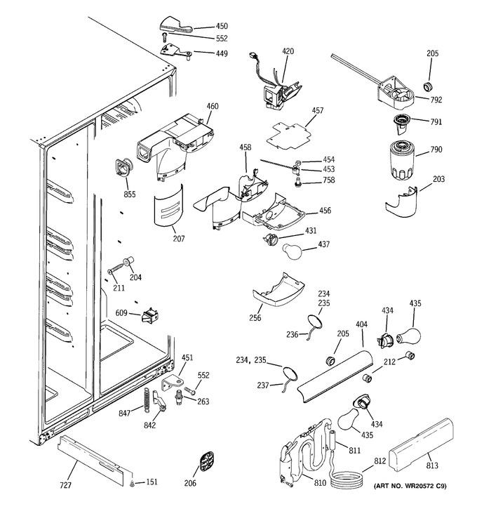 Diagram for GWE23LGYAFSS
