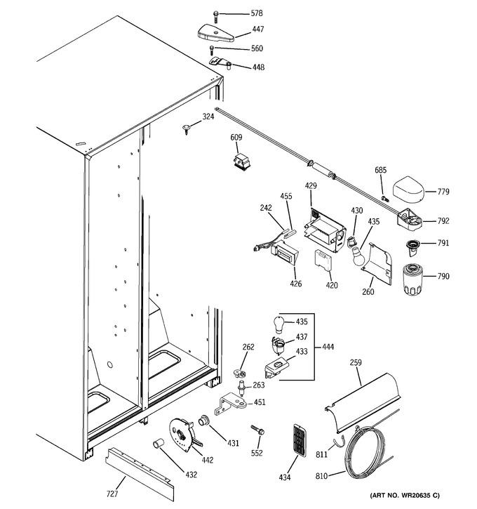 Diagram for GSF25IGXLWW