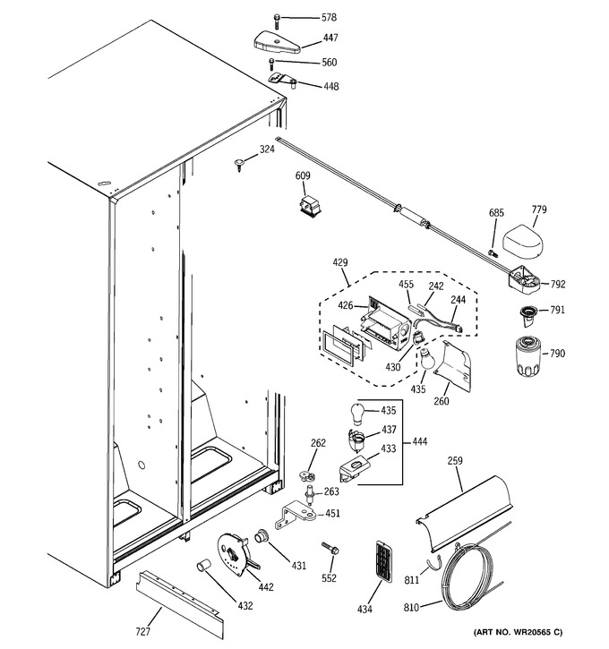Diagram for GSH22JFXJWW