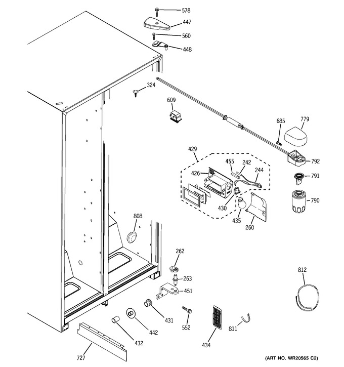 Diagram for HSM25GFTISA