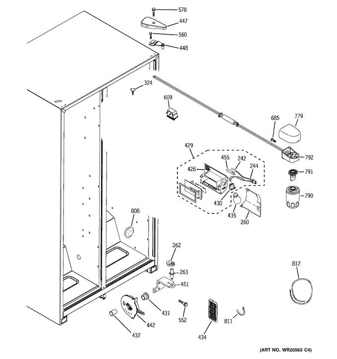 Diagram for HSS25GFTJWW