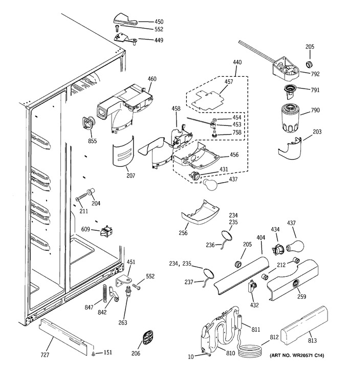 Diagram for GSHF6LGZBCWW
