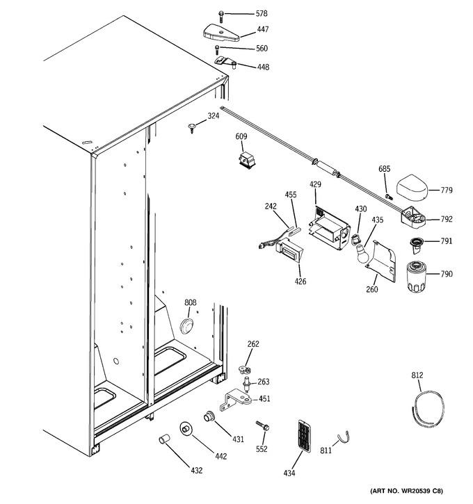 Diagram for GSS25GFXHWW