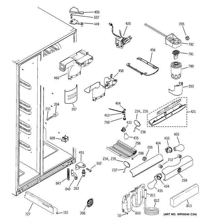 Diagram for GSC23LGRDWW