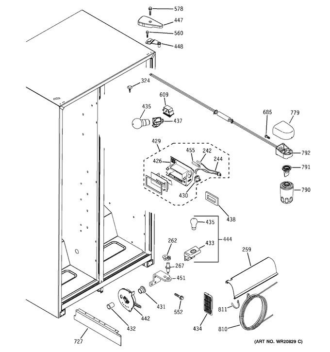 Diagram for GSH25JSBBSS