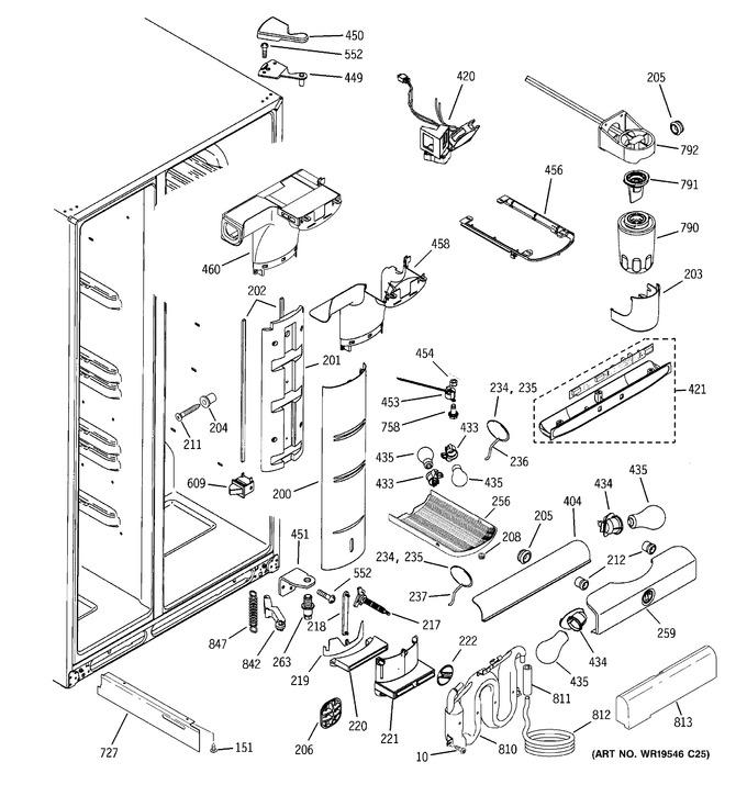 Diagram for PCE23NHTCFWW