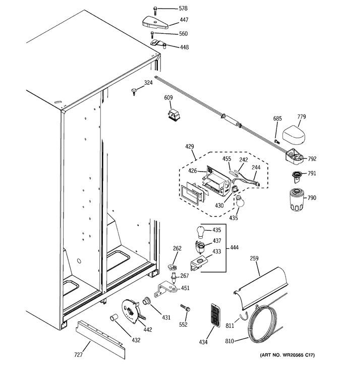Diagram for GSH25JGBBCC