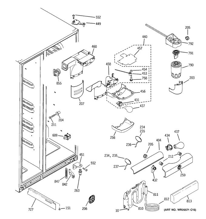 Diagram for GSHS6LGBBHSS