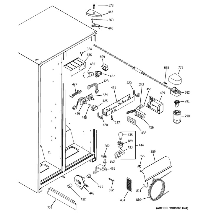 Diagram for GSH22JGBBCC