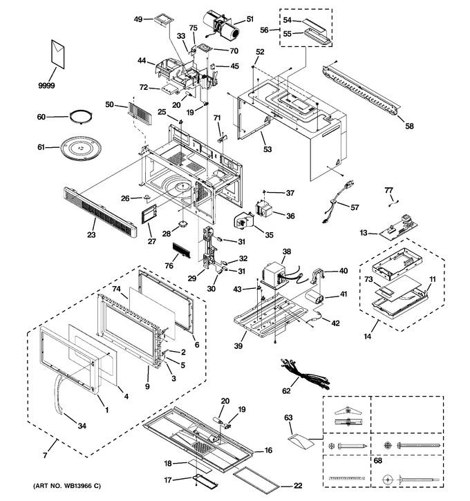 Diagram for JVM1530DM1BB