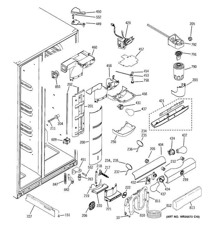 Diagram for PCE23NHTLFWW