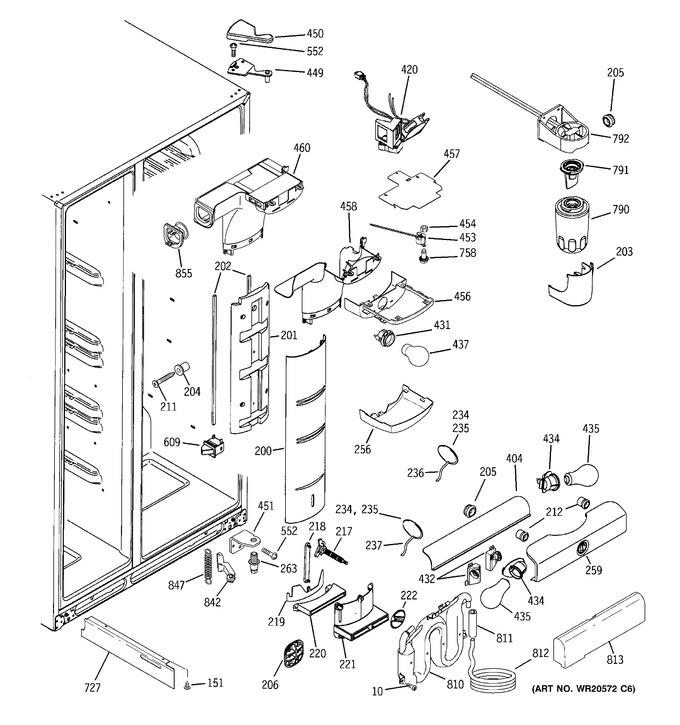 Diagram for PCE23TGXEFWW