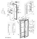 Diagram for 2 - Fresh Food Doors