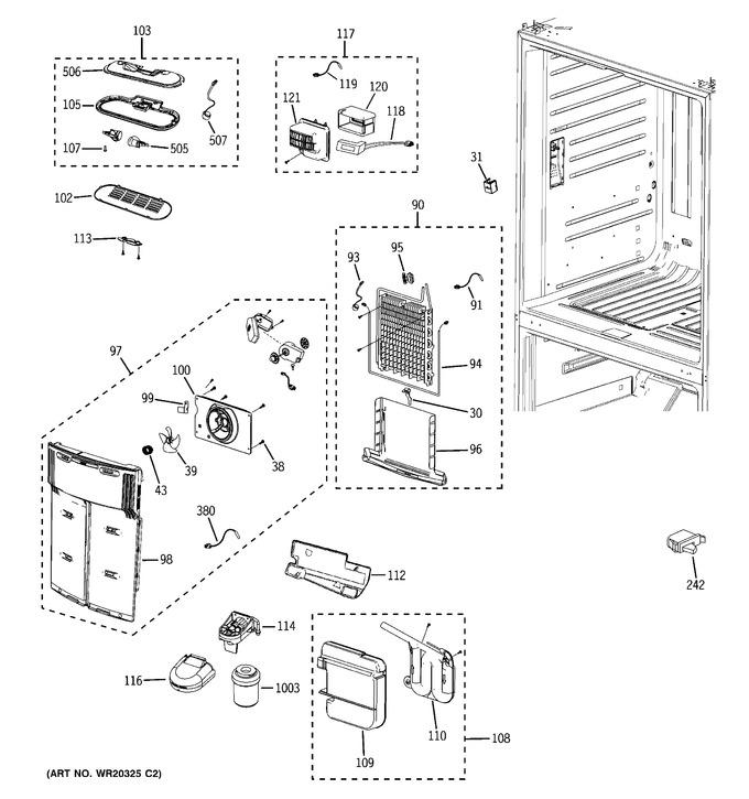 Diagram for GFSL6KEXBLS