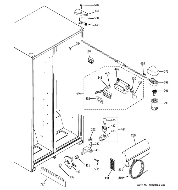 Diagram for GSH25JGCBCC