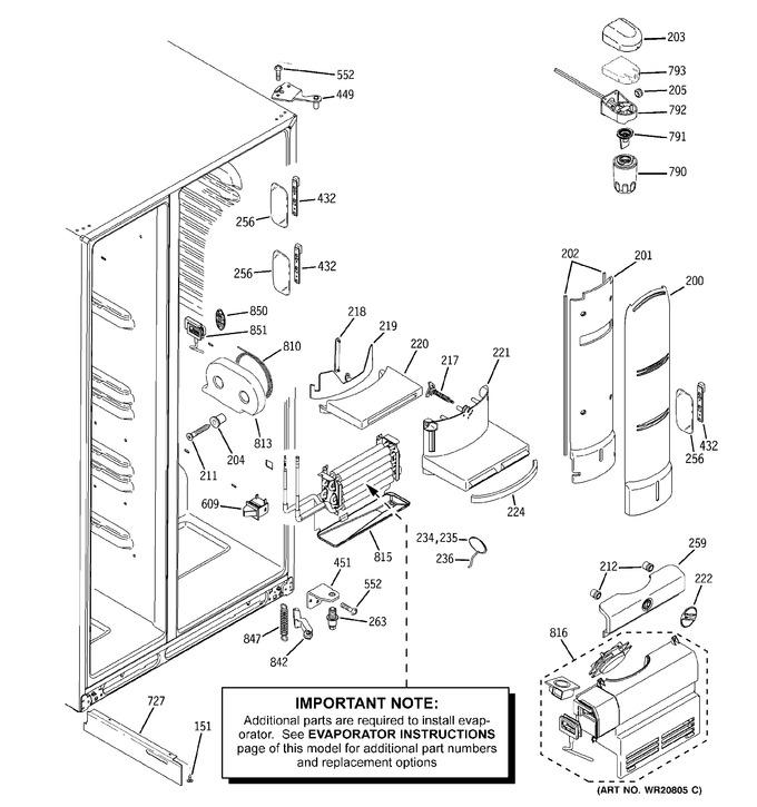 Diagram for PSHF6YGZBEWW