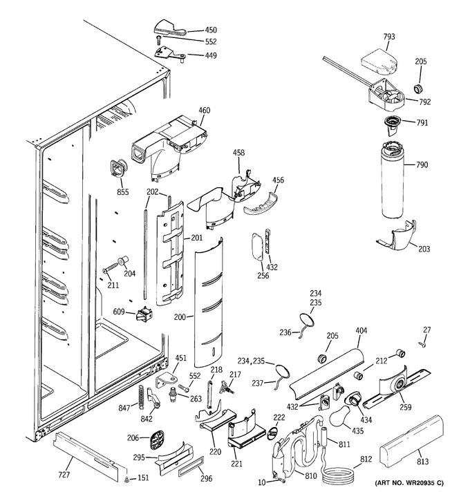 Diagram for RCA24VGBBFSS