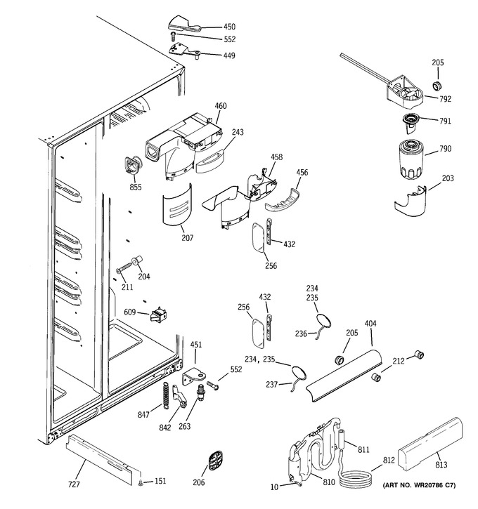 Diagram for RCU24KGBBFSS