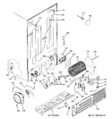 Diagram for 3 - Sealed System & Mother Board