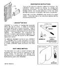 Diagram for 7 - Evaporator Instructions