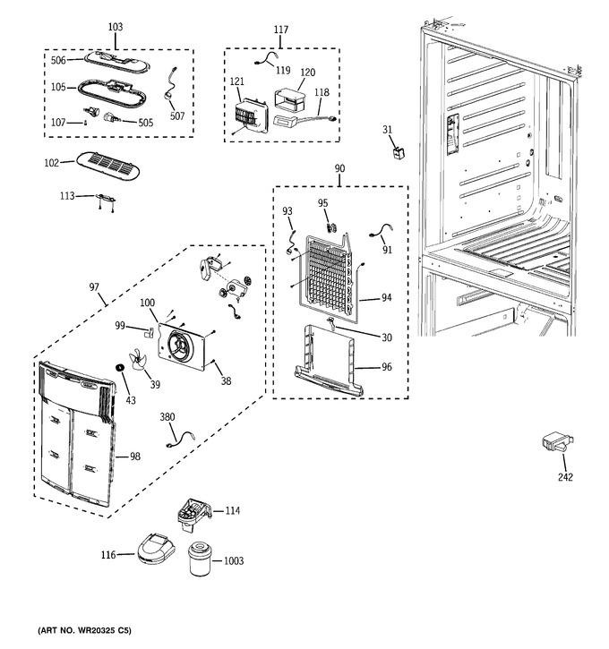 Diagram for GFSF6KEXDWW