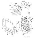 Diagram for 1 - Escutcheon & Door Assembly