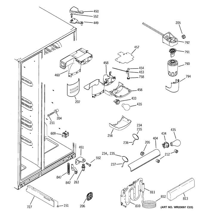 Diagram for DSD26DHWABG