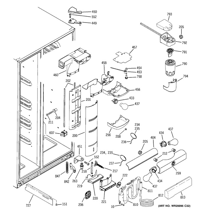 Diagram for PSF26MGWAWW