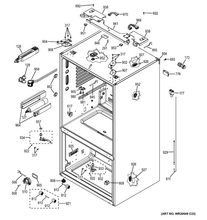 Diagram for GFE27GSDDSS