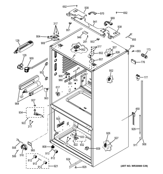 Diagram for GFE29HMEEES