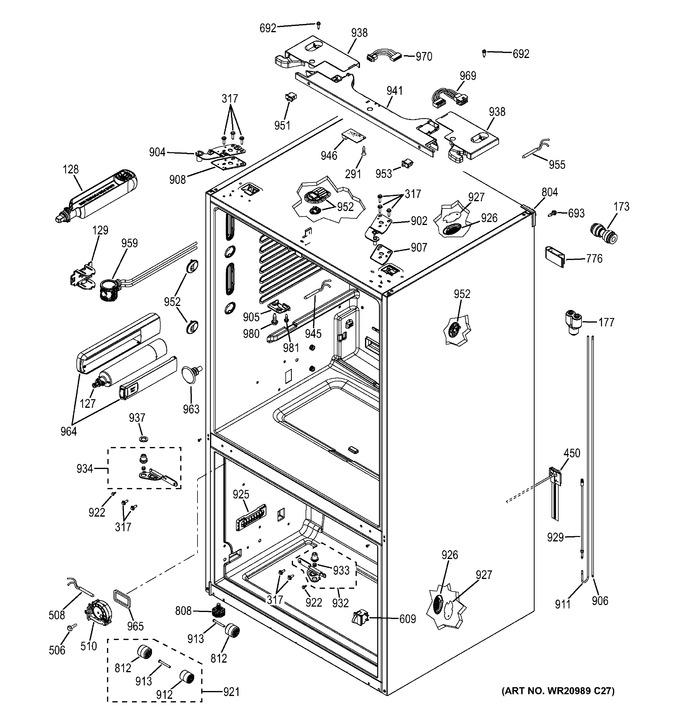 Diagram for GFE29HSDESS