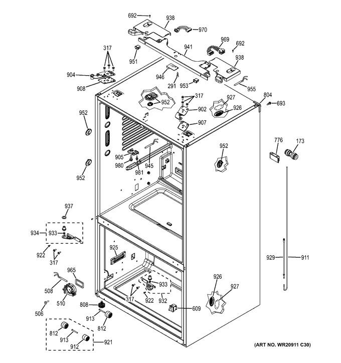 Diagram for PFE27KSDESS