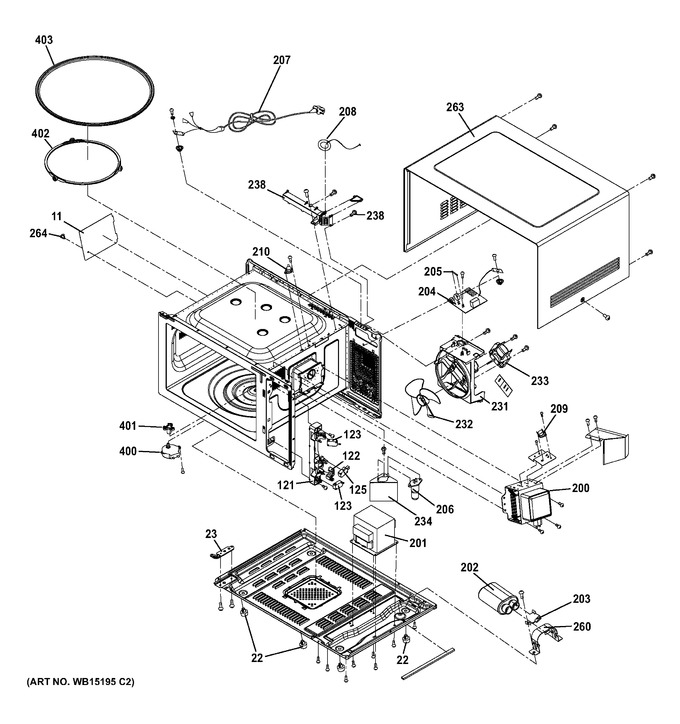 Diagram for JES1656SR2SS
